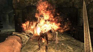 Fire vs Draugr